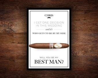 Will You Be My Best Man,Will You Be My Best Man Card,Will You Be My Best Man Gift,Will You Be My Best Man Printable,Best Man Gift,PDF File