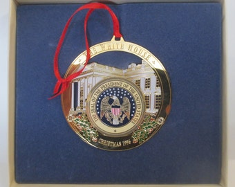 Vintage Christmas 1996 The White House Ornament