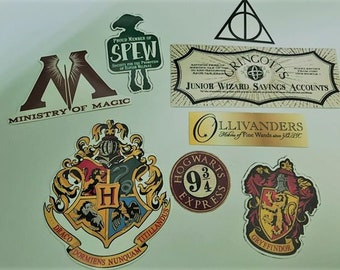 Harry Potter Fridge Magnets