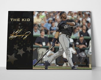 301202c53ab Ken Griffey JR Poster or Canvas