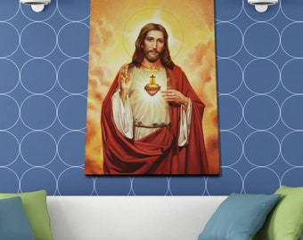 Jesus Christ Poster or Canvas