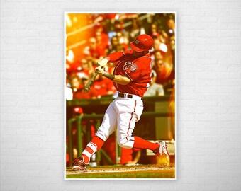 Bryce Harper Liftoff Poster