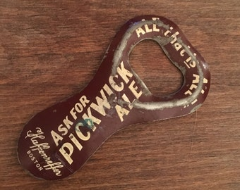1930s Pickwick Ale Bottle Opener
