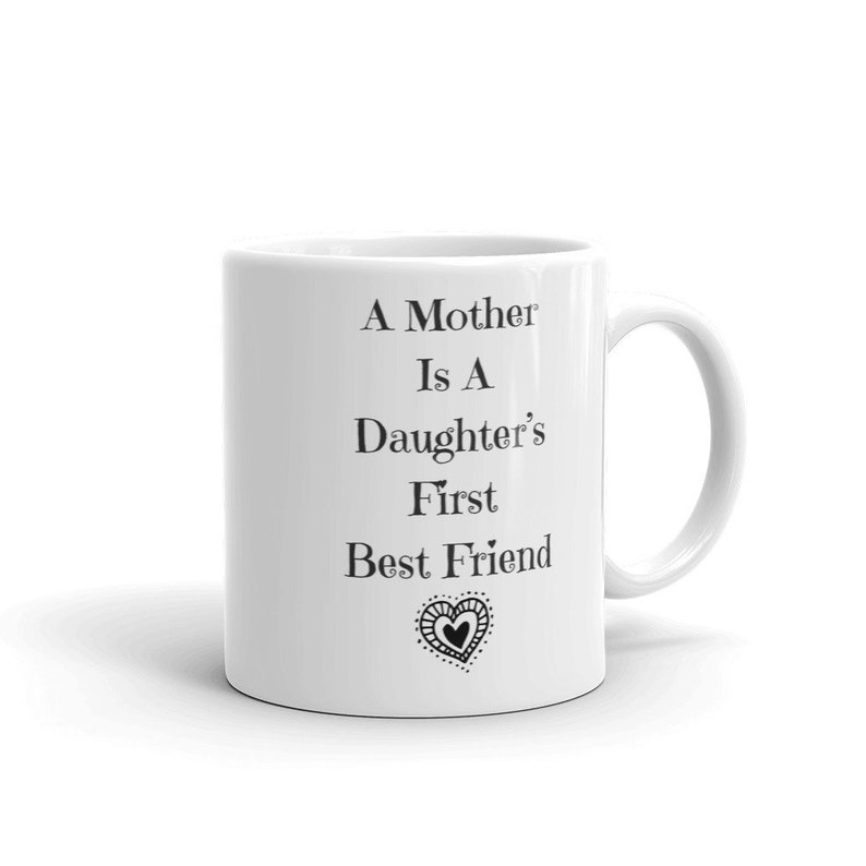 Cute Mom Coffee Mugs Gift For Mothers Day Mom From Daughter Etsy