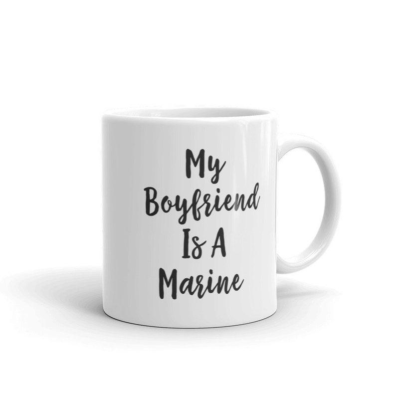 Marine Boyfriend Best Friend Mugs Girls Coffee Mug Girl Squad
