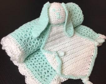 Hand Made Baby Blanket, Crochet