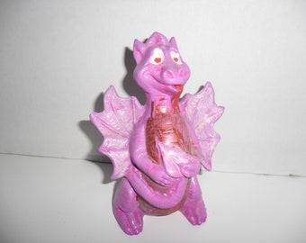 ceramic love sick dragon