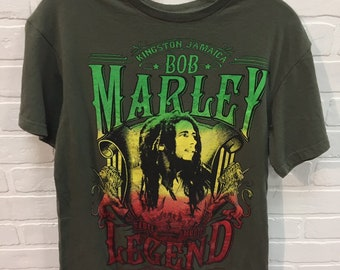 f5c9d882be8d 90's Vintage BOB MARLEY Album Art Rap Tee Shirt - 90s Bob Marley Zion Lion  Graphic Band T-Shirt | 90s Clothing Hypebeast Streetwear