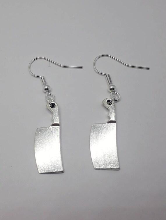 Jewelry Cleaver Earrings