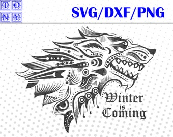 winter is coming svg,dxf,png/winter is coming clipart