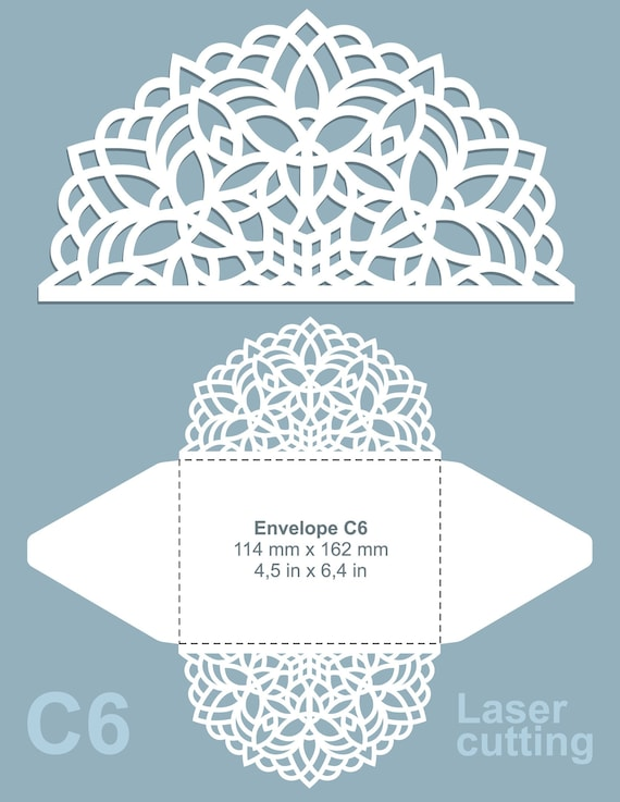 Ornamental Laser Cut Wedding Invitation Card Frame Template Table Number Card Vector Svg Cdr Eps Files Silhouette Cameo Cricut Cutting
