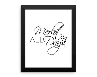 Merlot All a Day  poster