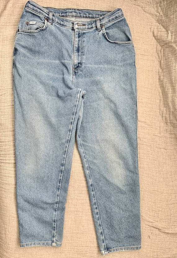 Vintage 1980s Lee High Waisted Jeans