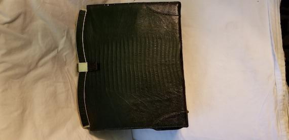 Vintage Vassar Genuine Lizard handbag