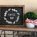 Coffee Bar Sign