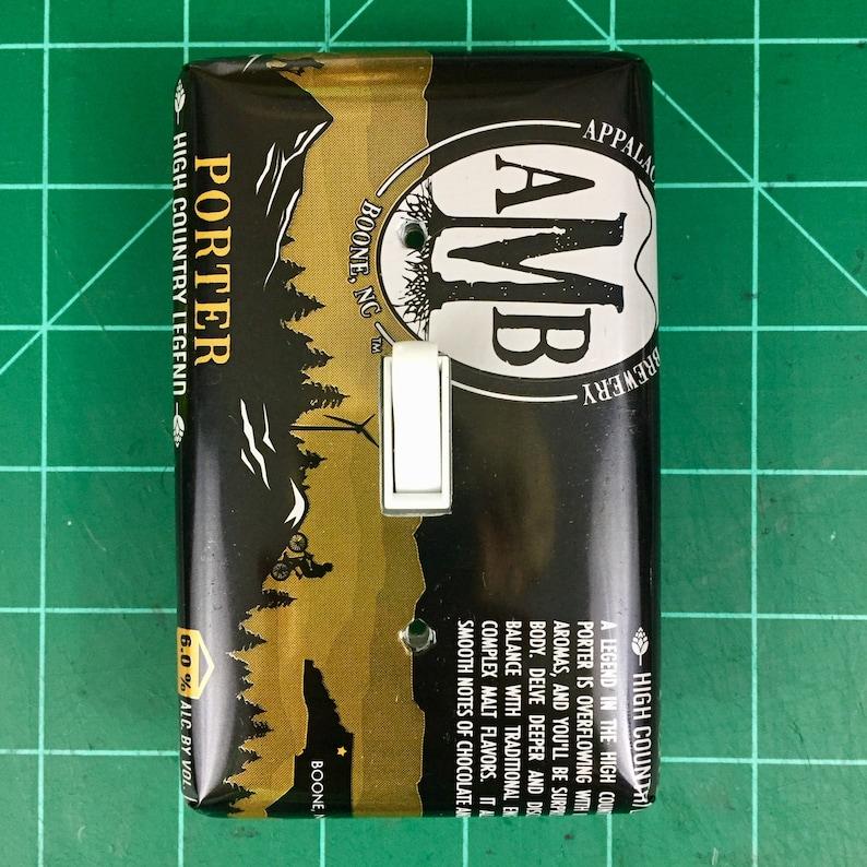 Appalachian Mountain Brewing \u201cPorter\u201d Switch Plate Cover