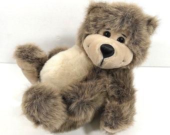 24K Polar Puff Plush Bear Vintage Item No 4719 Corey