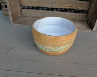 Small salad bowl Buddhabowl hand-turned
