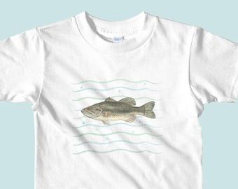 Bass shirt, fish shirt, fishing shirt, bass t shirt, bass shirt, fish shirt for boys, fishing shirt for boys, largemouth bass shirt, fishing