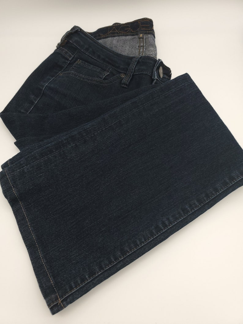 Pre-Owned JAG JEANS Woman/'s Low Rise Boot Leg Size 2 Dark Blue