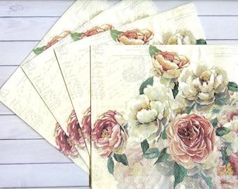 Rice Paper for Decoupage Scrapbook Craft Sunflowers Village 53