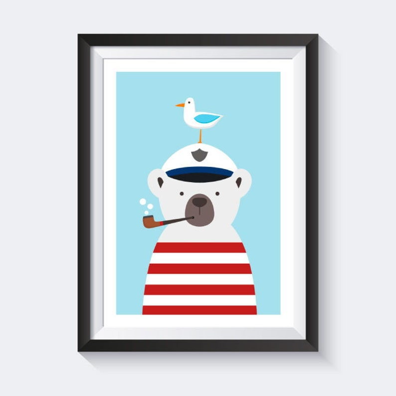 Download Kinderbilder Poster Kinderzimmer Maritim