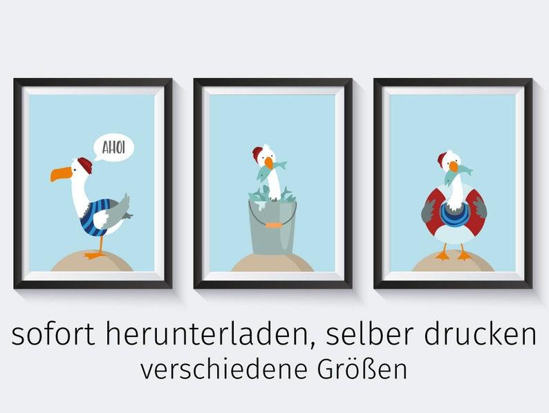 Download Kinderbilder Kinderzimmer Poster Maritim