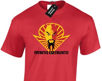 776a438a14b60 Pathetic Earthlings Mens T-Shirt Unisex Flash Ming Gordon Merciless Cult  Classic Film Movie Sci-Fi 80 s Queen Retro Top Present Gift