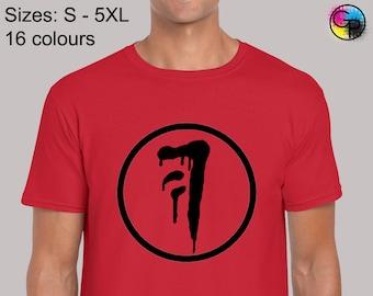 Winchester Brothers T Shirt Mens Supernatural Sam Dean Bobby Devil Cult Tv