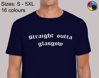 Straight Outta St Mirren Compton FC Scotland Football T Shirt