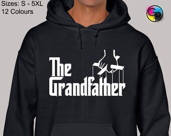 Adults WORLDS BEST GRANDPA Sport Grey Hoodie