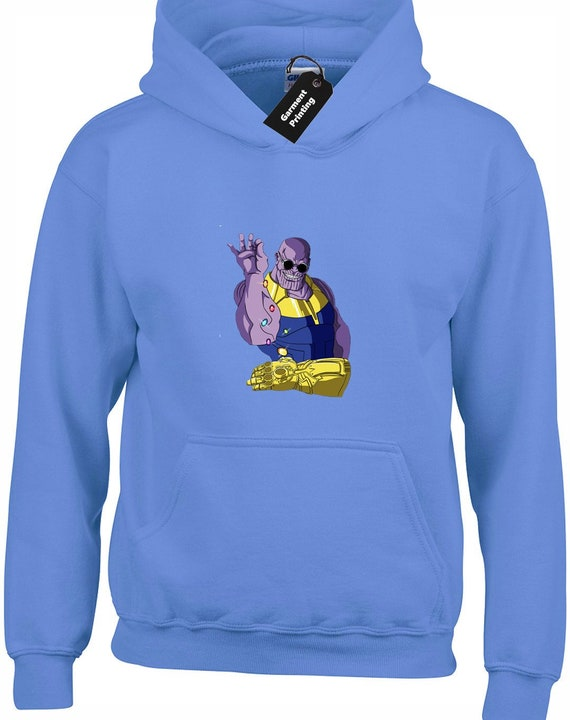 Gaming Thanos Infinity Gems Kids Hoodie