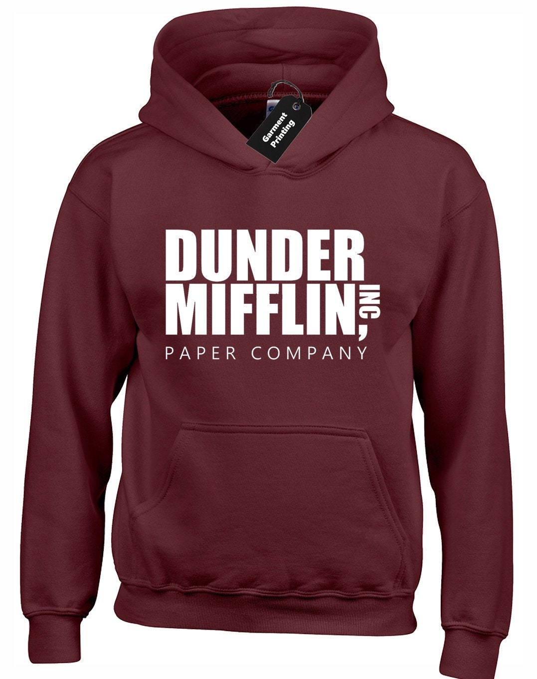 4eb8f580 Dunder Mifflin Hoodie Hoody Unisex The Office US Dwight | Etsy