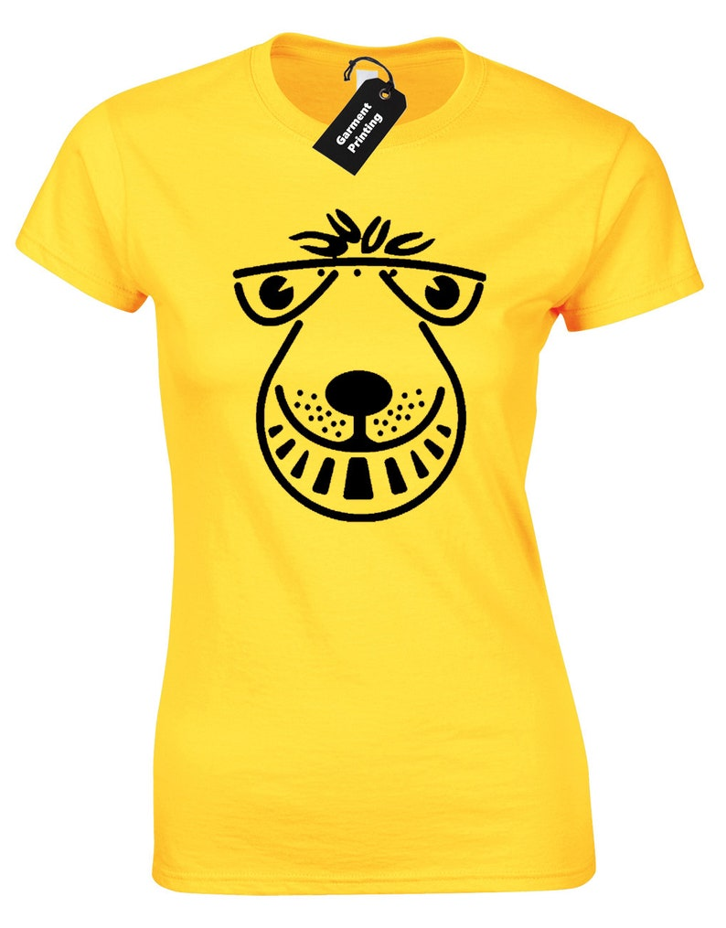 Women's Yellow Space Hopper T-shirt, other colours available