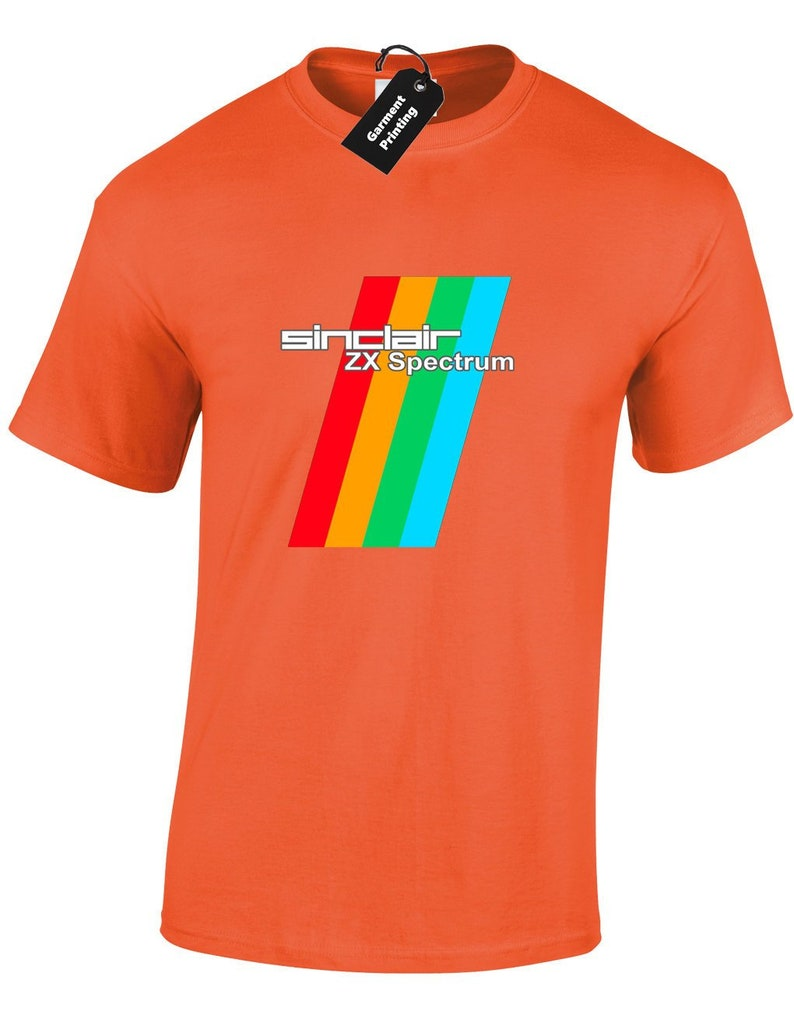 ZX Spectrum T-shirt for Men. Many colours, S to XXL