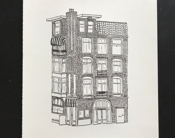 Limited Print Amsterdam Architecture