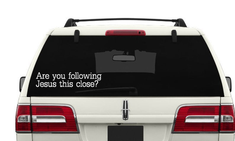 Funny Car Decal Funny Bumper Sticker Funny Quotes On Car Etsy