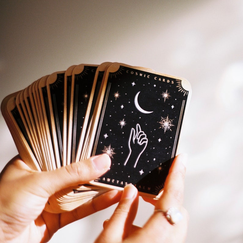Cosmic Cards // Self Reflection Deck image 0