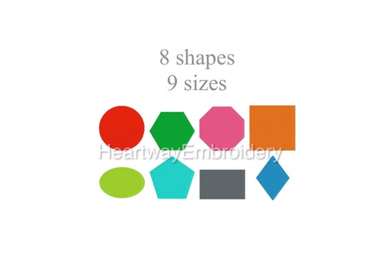 acrylic quilting template sets oval hexagon octagon circle triangle heart