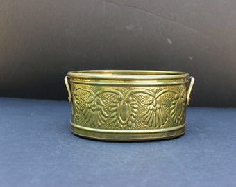 Vintage Brass Planter with Handles/Made In India