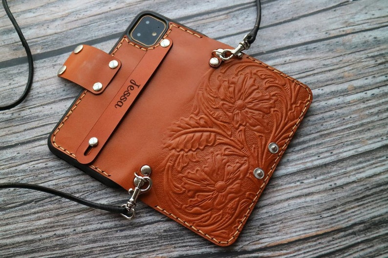 11Pro max  XXsXrXs Max se678 plus6s Initial Monogram Custom  Cover Personalised Real Leather Embossed Case for iPhone 12 mini