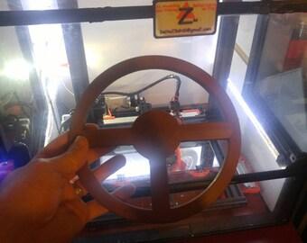 """8"""" diameter steering wheel"""