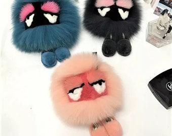 Creative Monster Fur Bag Bugs Charm Karlito Handbag Pendant with Cute Leg  Kid s Gift 95fc715083