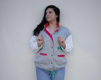 Vintage 90's Colorblock Sweater