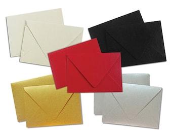 Metallic Gift Card Envelopes Variety Pack - 10 Pack