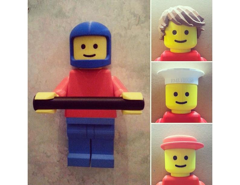 Porte Papier Toilette Lego Paper Holder Lego Etsy