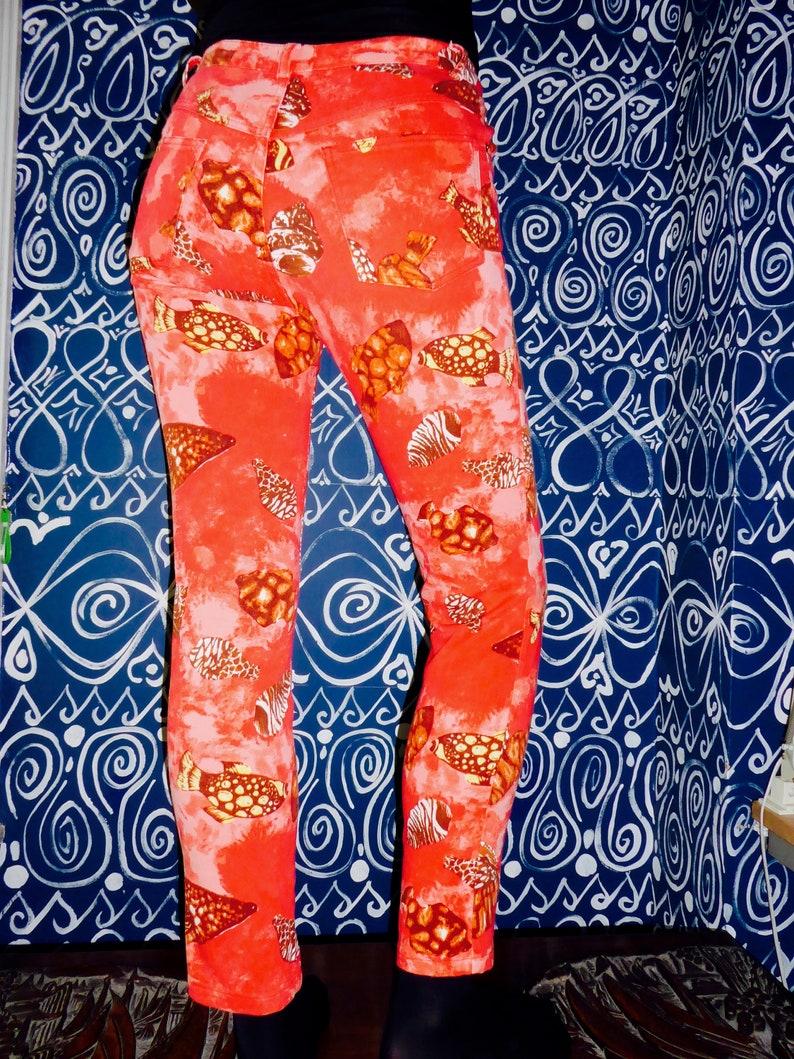90s Novelty Print Festival Jeans