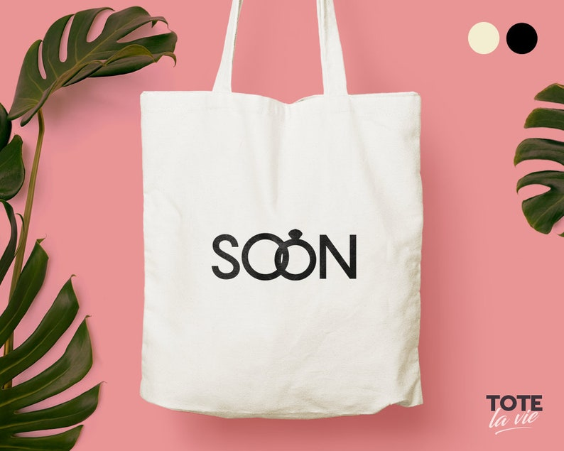 Soon To Be Bride Tote bag  Soon to be Wife Tote bag  Wedding gift  Gift For Bride  Wife gift  Original Design Cotton Tote  Canvas Tote