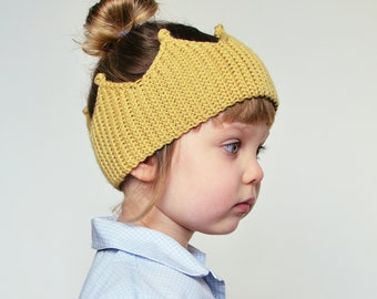 Crochet Headband Pattern PDF oko_crown / Tutorial step by step / Instructions on how to adjust for any yarn/size