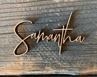 Personalized Wooden Place Cards | Name Plates For Wedding | wood name | wood names | Place Cards | Place Setting | Custom